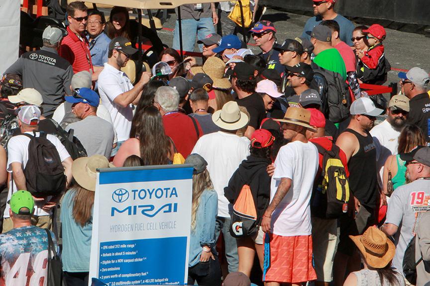 Daniel Suarez Sonoma Raceway 2018-E